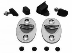 Seats & Components - Seat Hardware - Scott Drake - 65-66 Mustang Rear Seat Hardware Kits