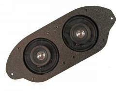 Audio - Speakers - Scott Drake - 67-70 Mustang Dual Dash Speakers (3 Inch Dual Cone)