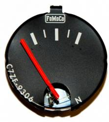 Gauges - Stock Gauges - Scott Drake - 67- 68 Mustang Fuel Gauge Without Tachometer