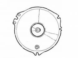 Gauges - Lenses - Scott Drake - 1967 - 1968 Mustang  Instrument Lens (Speedo, with Trip)