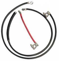 Electrical & Lighting - Battery - Scott Drake - 67 - 70 Mustang Heavy Duty Battery Cable Set