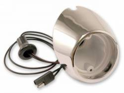 Electrical & Lighting - Back Up Lights - Scott Drake - 67-68 Mustang Backup Lamp Housing (LH)