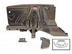 Body - Shock Tower - Scott Drake - 67-68 Mustang Shock tower/apron asy rh
