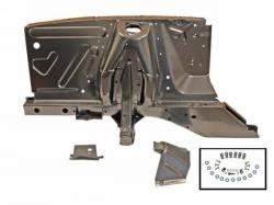 Body - Shock Tower - Scott Drake - 67-68 Mustang Shock tower/apron asy rh