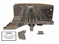 Body - Shock Tower - Scott Drake - 67-68 Mustang Shock Tower/Apron Assembly LH