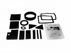 A/C & Heating - A/C & Heating Components - Scott Drake - 67-68 Mustang Heater Seal Kit without A/C