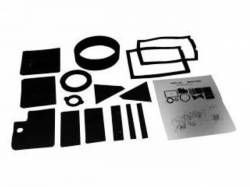 A/C & Heating - A/C & Heating Components - Scott Drake - 67-68 Mustang Heater Seal Kit with A/C