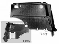 Scott Drake - 67 - 68 Mustang Fastback Rear Interior Panels (ABS, Pair)