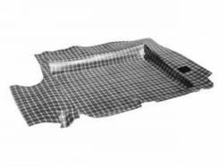 Carpet & Related - Trunk Mats - Scott Drake - 65-68 Mustang Heavy Duty Rubber Mat (Plaid)