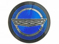 Stripes & Decals - Emblem & Badge Decals - Scott Drake - 1965 - 1967 Mustang Wire Wheel Blue Center Decal