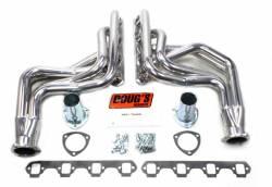 Exhaust - Headers - Doug's Headers - 64 - 73 Mustang 260-351W Long Tube Headers, Silver Ceramic Coated