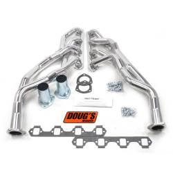 Exhaust - Headers - Doug's Headers - 65 - 70 Mustang 260-302 Engine Tri-Y Header, Silver Ceramic Coated