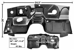 71 - 73 Mustang Firewall with AC