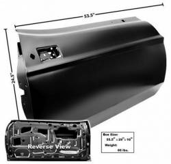 Door - Shell - Dynacorn - 71 - 73 Mustang Dynacorn Door Shell, RH