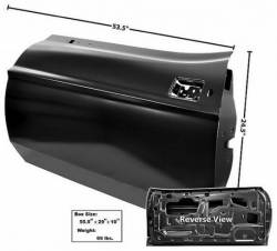 Door - Shell - Dynacorn - 71 - 73 Mustang Dynacorn Door Shell, LH