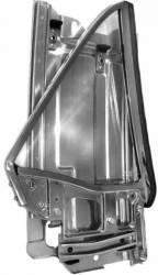 67 - 68 Mustang LH Rear Quarter Window Assembly