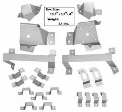 Trim Panels - Quarter Panels - Dynacorn - 67 - 68 Mustang Body Bracket Kit Fastback 21 Pc