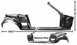 Frame - Assemblies - Dynacorn - 67 - 68 Mustang Convertible Quarter/Door Frame RH