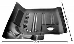Floor Pan - Sections - Dynacorn - 71 - 73 Mustang Floor Pan, REAR Section, Right