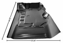 Floor Pan - Sections - Dynacorn - 71 - 73 Mustang Floor Pan Front Section, Left