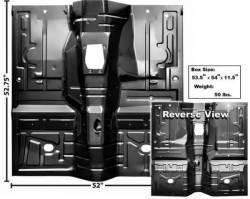Floor Pan - Complete - Dynacorn - 79 - 93 Mustang Full Floor Pan, Manual Trans.
