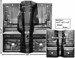 Floor Pan - Complete - Dynacorn - 79 - 93 Mustang Full Floor Pan, Automatic Trans