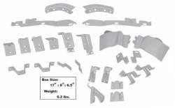 69 - 70 Mustang Fastback Body Bracket Kit 25 Pc
