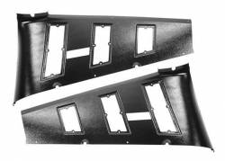 Trim Panels - Quarter Panels - Dynacorn - 65-66 Mustang Fastback Interior Quarter Vent Trim