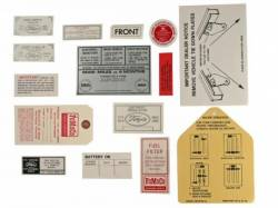 15 Piece Decal Kit