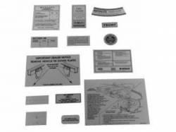 Scott Drake - 14 Piece Decal Kit