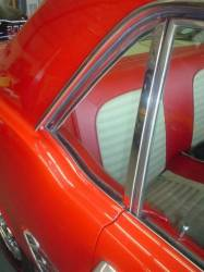 Window Glass - Quarter Glass - Miscellaneous - 64-66 Mustang Coupe RH Quarter Glass, Tinted