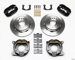 Disc Brakes - Brake Kits - Wilwood Engineering Brakes - 1964 - 1973 Mustang Rear Disc Brake Kit, With Parking Brake