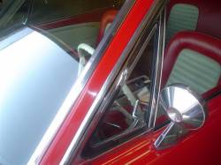 Miscellaneous - 64-68 Mustang  LH Vent Glass, Tinted