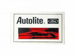 "Stripes & Decals - Misc Decals & Tags - Scott Drake - 1/2""x2 1/2"" Autolite Decal"