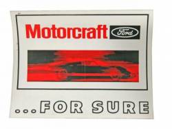 Stripes & Decals - Misc Decals & Tags - Scott Drake - Motorcraft For Sure GT40 Decal