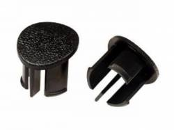 Door Panels & Related - Arm Rests - Scott Drake - 87-93 Mustang Arm Rest Plugs (Black, RH)