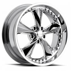 Foose Wheels - 05 - 14 Mustang Foose Nitrous Chrome 18 x 10 Wheel