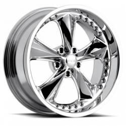 Foose Wheels - 05 - 14 Mustang Foose Nitrous Chrome 18 x 8.5 Rim