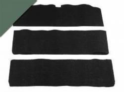 Carpet & Related - Fold Down Seat Carpet - Scott Drake - 65-68 Mustang Fold-Down Seat Carpet (Ivy Gold, 80/20)