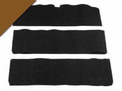 Carpet & Related - Fold Down Seat Carpet - Scott Drake - 65-68 Mustang Fold-Down Seat Carpet (Saddle, 80/20)
