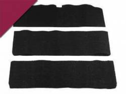 Carpet & Related - Fold Down Seat Carpet - Scott Drake - 1969 - 1970 Mustang  Fold-Down Seat Carpet (Maroon, 100% nylon)
