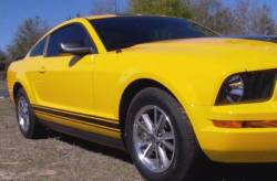 Graphic Express Graphics - 05 - 09 Mustang Rocker Stripe Kit, More Colors
