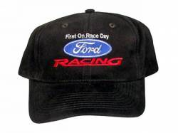 Accessories - Apparel - Scott Drake - Ford Racing Logo Hat (Black)