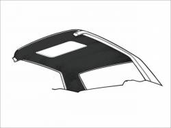 Headliner & Related - Other Ford - Scott Drake - 67-68 Cougar Headliner with Sunroof (Black)