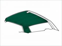 Headliner & Related - Fastback - Scott Drake - 1971 - 1973 Mustang  Fastback Headliner (Dark Green)