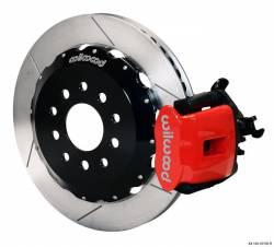 Disc Brakes - Brake Kits - Wilwood Engineering Brakes - 05 - 09 Mustang Wilwood Rear Brake Kit, Red Clpr
