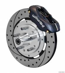 Disc Brakes - Brake Kits - Wilwood Engineering Brakes - 65 - 69 Mustang Wilwood Front Disc Brake Kit