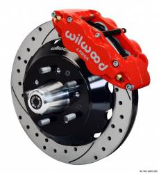 Disc Brakes - Brake Kits - Wilwood Engineering Brakes - 65 - 69 Mustang Wilwood 13 inch Front Brake Kit