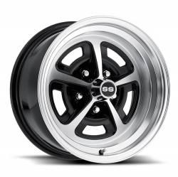 Legendary Wheel Co. - 64 - 73 Mustang 16 x 8 Magnum Wheel- Gloss/Black Machined