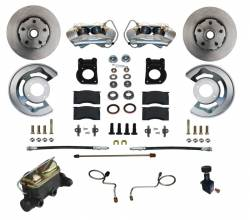 Disc Brakes - Brake Kits - Scott Drake - 67 - 69 Mustang Manual Front Disc Brake Conversion Kit